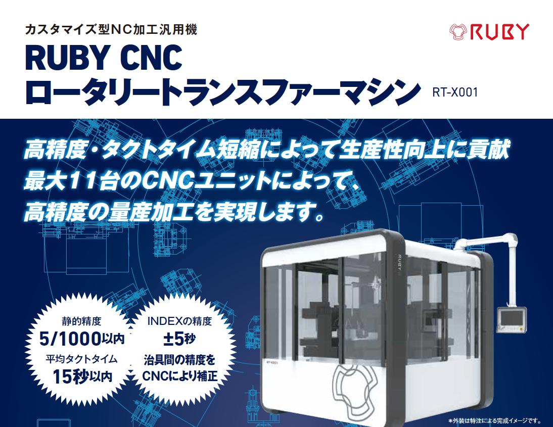 RUBYCNCパンフレット